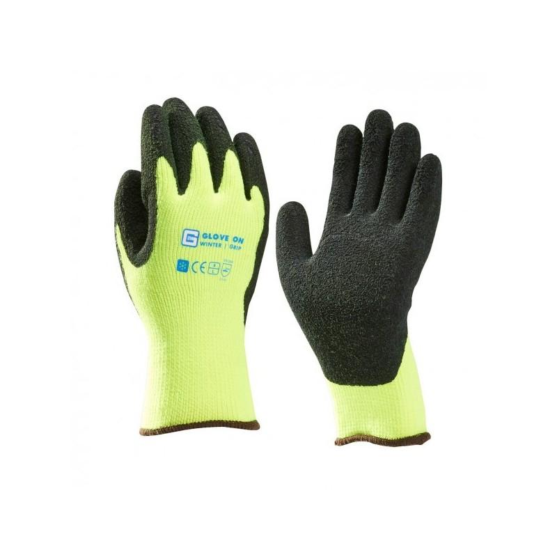 Paar thermohandschoenen Glove On Winter Grip